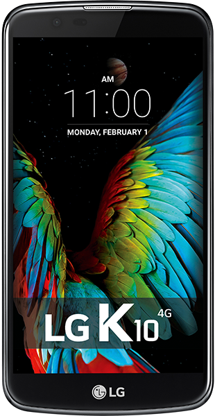 LG K10 2017 Black 16GB i.c.m. LG K10 2017 Black 16GB