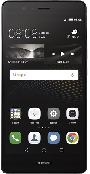Huawei P9 Lite Black 16GB voor € 72 met 500 minuten, 50 sms en 1250 MB voor € 23,75 per maand i.c.m. Huawei P9 Lite Black 16GB